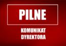 Komunikat Dyrektora II Liceum Ogólnokształcącego im. Jana Kasprowicza w Kutnie z dnia 16 kwietnia 2021 r.