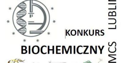 Ogólnopolski Konkurs Biochemiczny w Kasprowiczu
