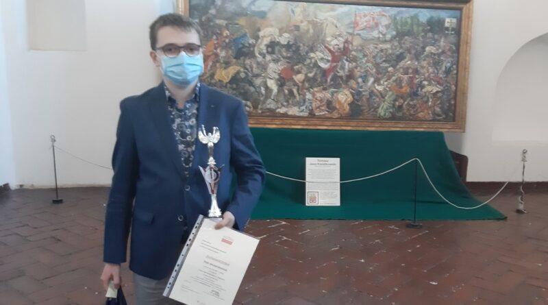 Piotr Muliński laureatem VI Olimpiady Wiedzy Historycznej