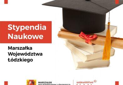 Kasprowicz ze stypendiami Marszałka Województwa Łódzkiego!!!